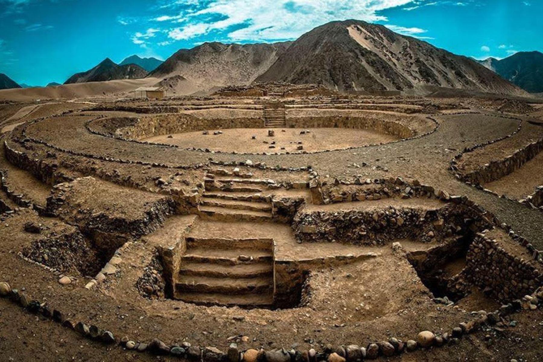 La Ciudad Sagrada de Caral está ubicada a cuatro horas de Lima, en la provincia de Barranca. Foto: ANDINA/Difusión