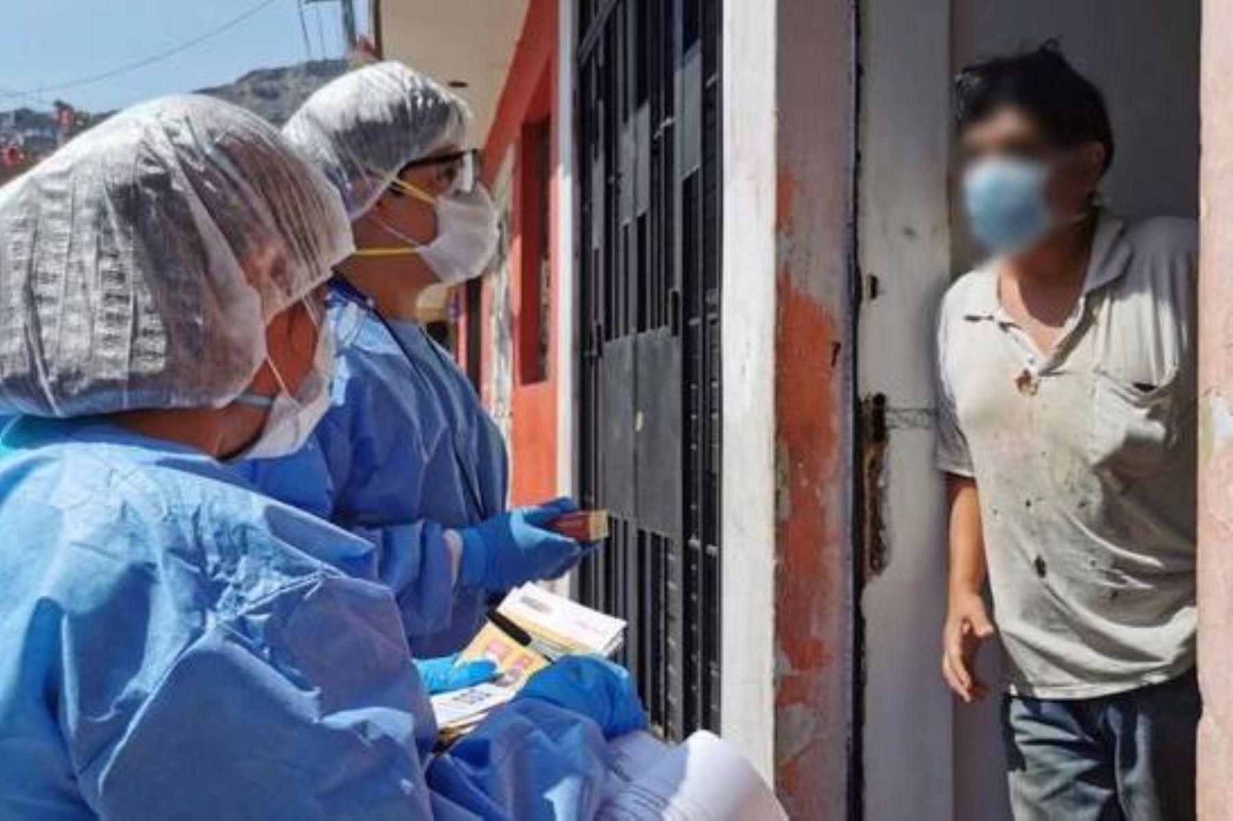 Covid-19: más de 260 pacientes de Lima Este reciben tratamiento gratuito en sus hogares. Foto: ANDINA/Difusión.