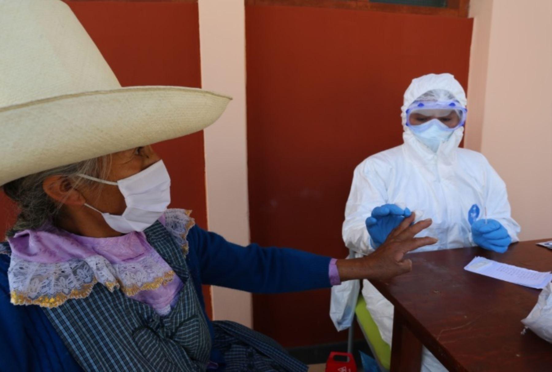 Pobladores de Cajamarca respetan disposiciones del Gobierno para frenar el contagio del nuevo coronavirus. Foto: ANDINA/Difusión