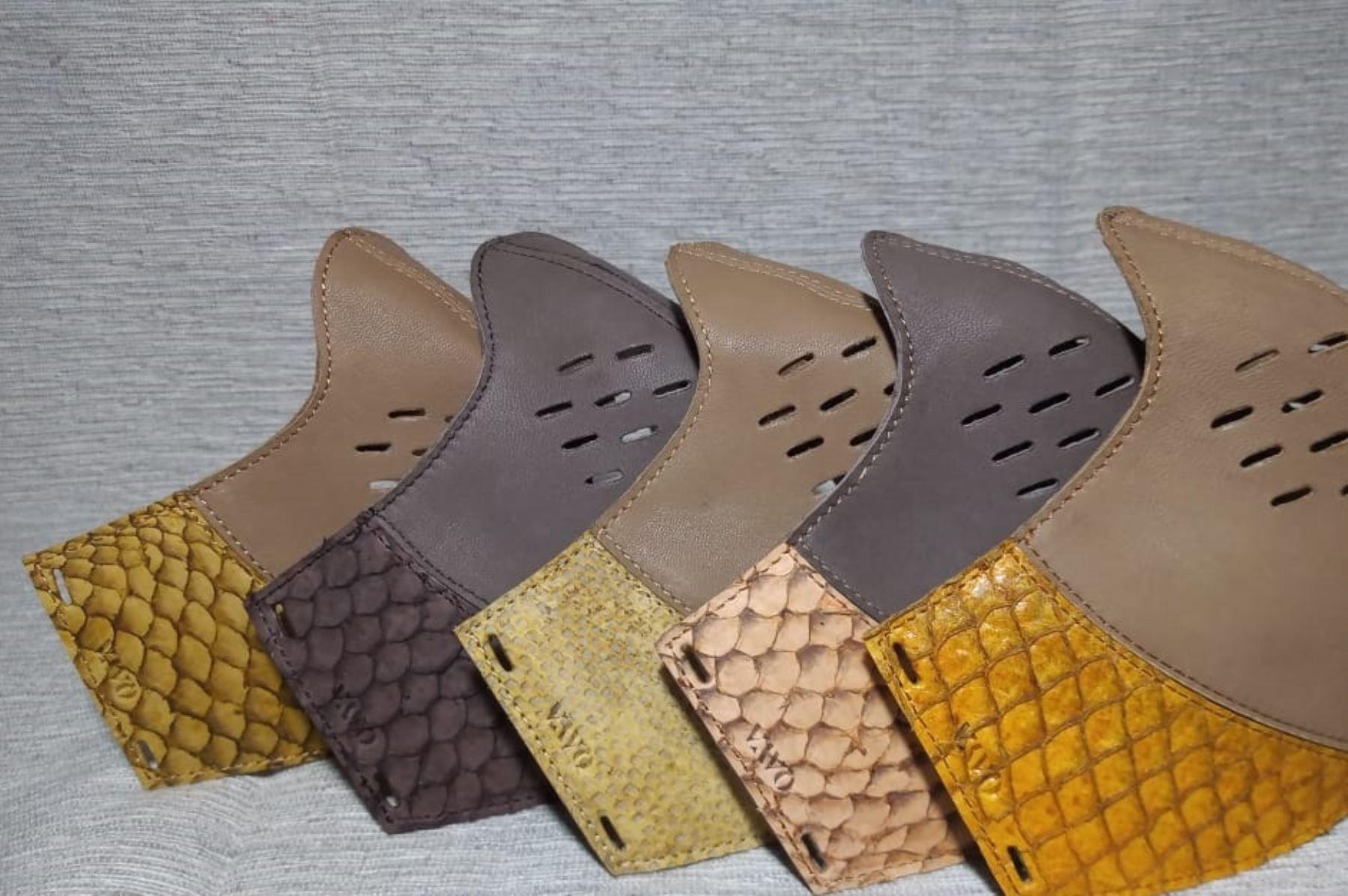 Innovador producto: mascarillas hechas con piel de pescado