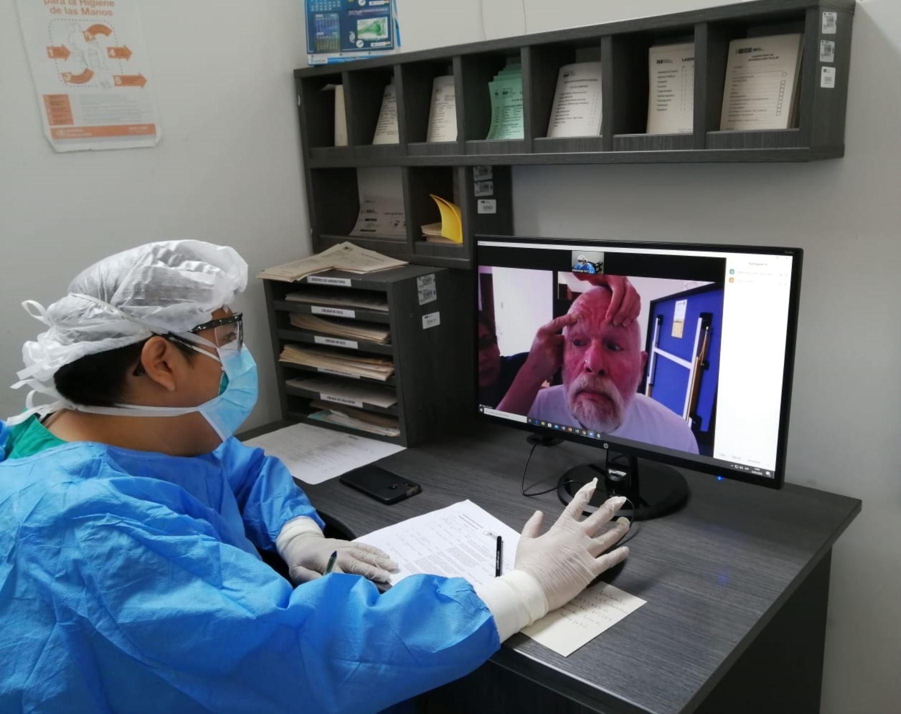Desde el 3 de abril dicha institución viene implementando con éxito el servicio de teleorientación oftalmológica en beneficio de sus pacientes