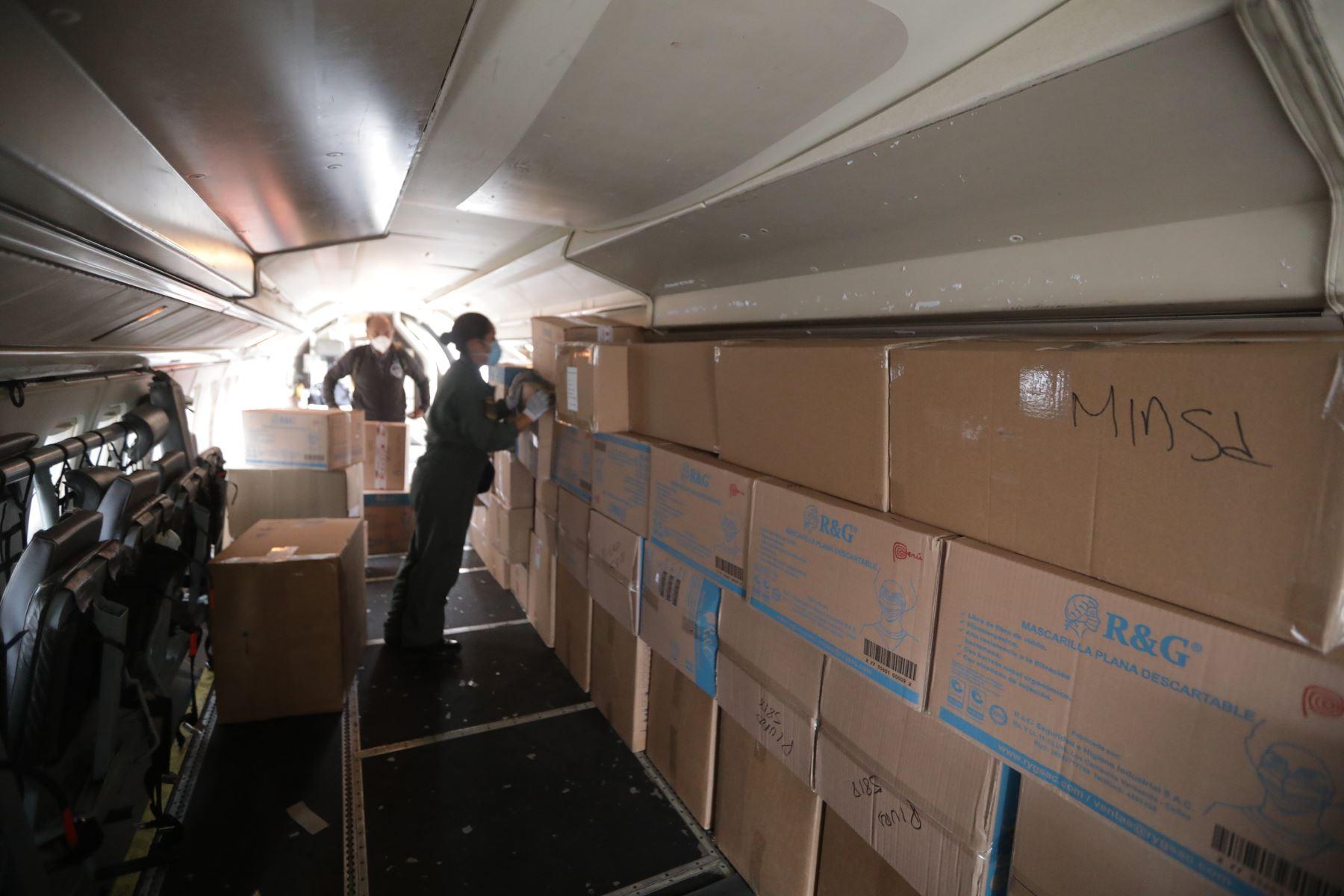 Ministerio de salud envía ventiladores y 28,890 equipos de protección personal a Piura. Foto: MINSA