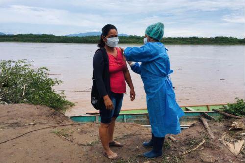 Coronavirus:  Minsa impulsa Brigadas de Vacunación en San Martín para combatir la influeza y neumococo