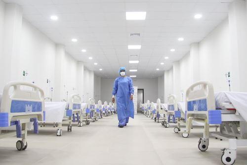 Coronavirus: Hospital Guillermo Almenara abre nueva Sala de Observación para pacientes no críticos de  covid -19