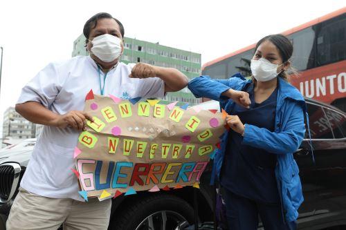 Coronavirus: Equipo de profesionales de la salud regresan de Loreto tras atender pacientes con covid-19