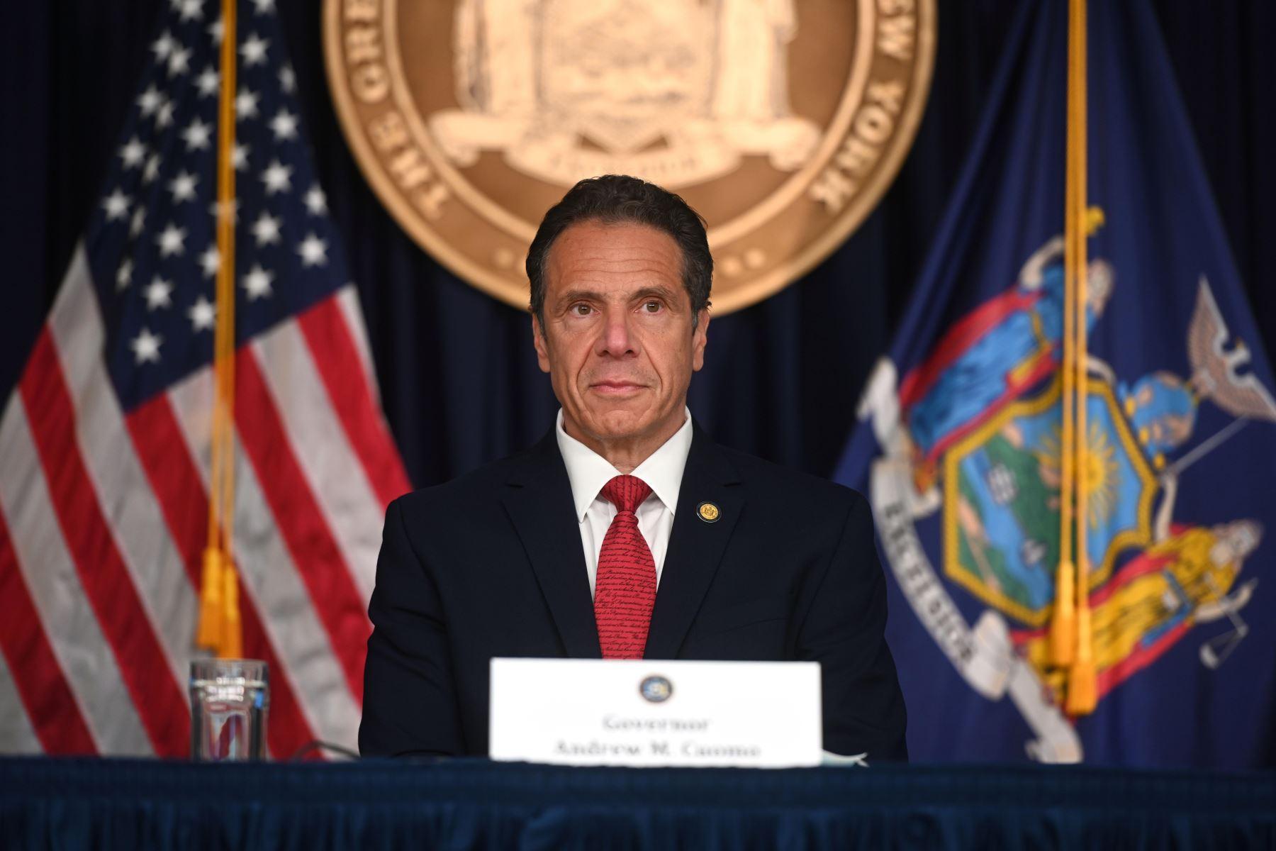 Gobernador de Nueva York, Andrew Cuomo. Foto: EFE