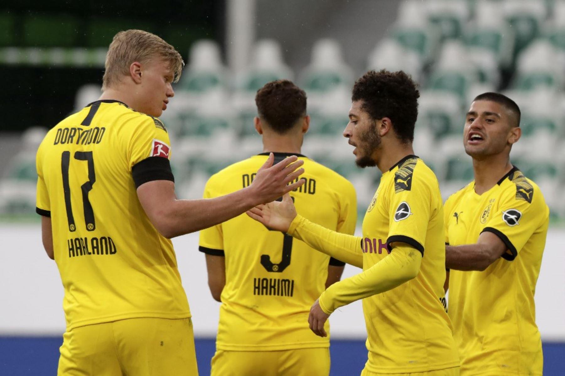 Borussia Dortmund registró su segunda victoria en otros tantos partidos desde la reanudación de la Bundesliga