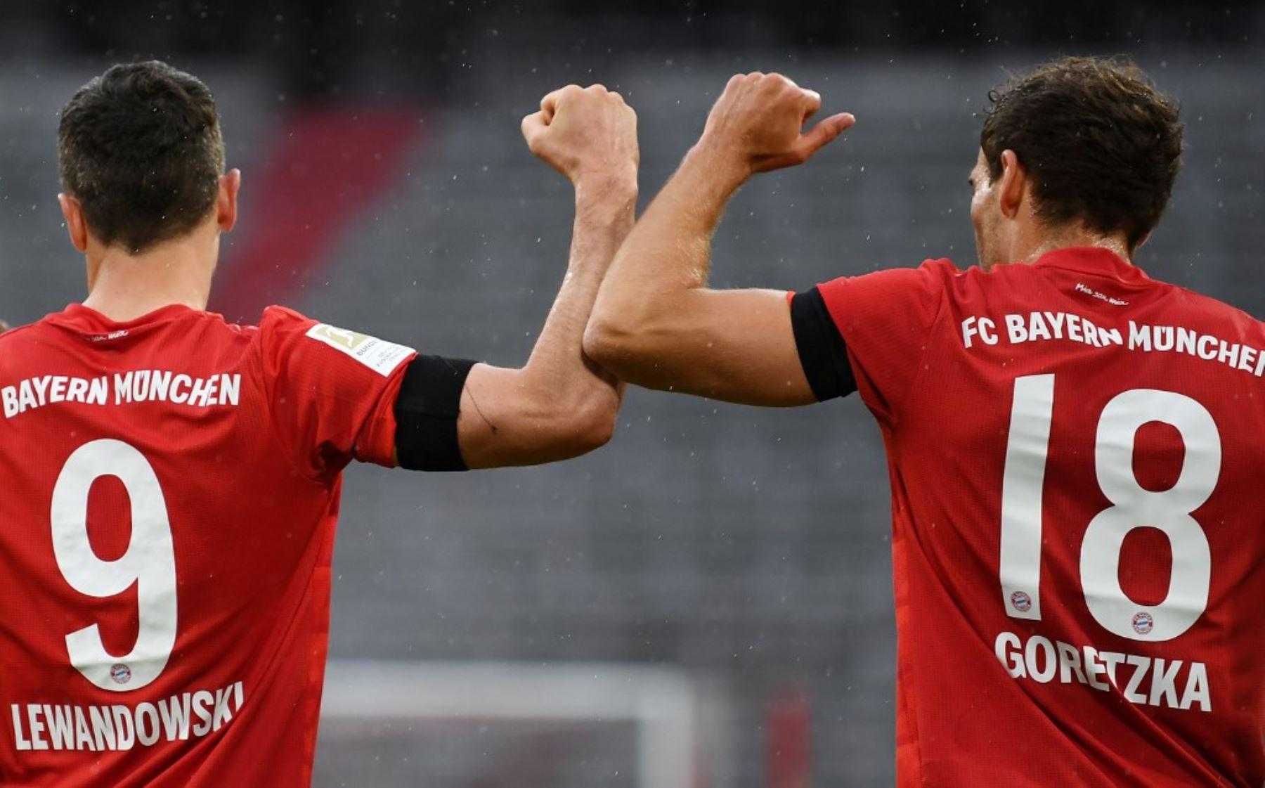 Bayern Múnich golea 5-2 al Frankfurt y se mantiene solito en la punta