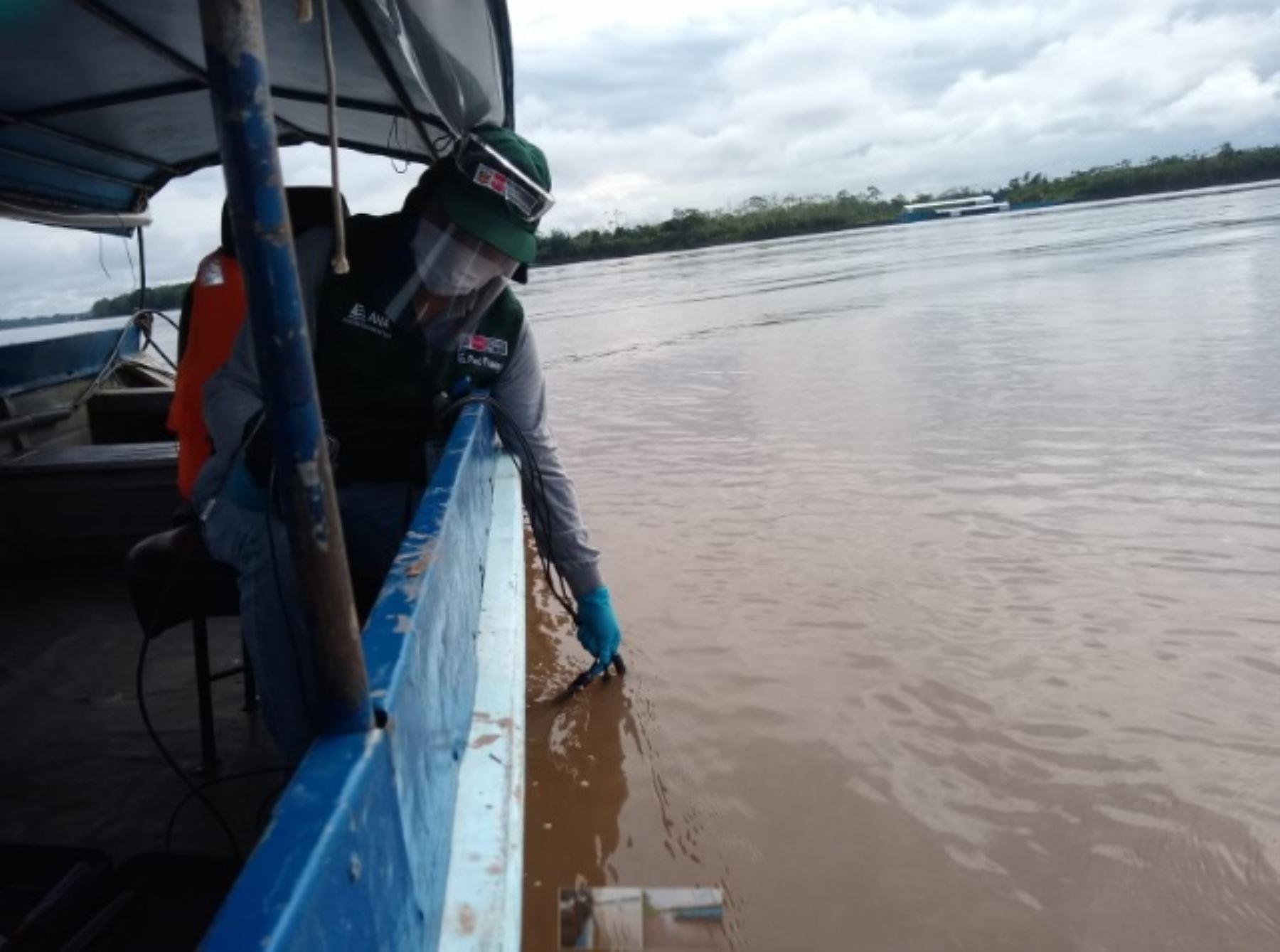 El Ministerio de Agricultura y Riego (Minagri), a través de la Autoridad Nacional del Agua (ANA), evalúa la calidad de agua de los ríos: Huallaga, Paranapura y Shanusi, ubicado en la provincia de Alto Amazonas, región Loreto.