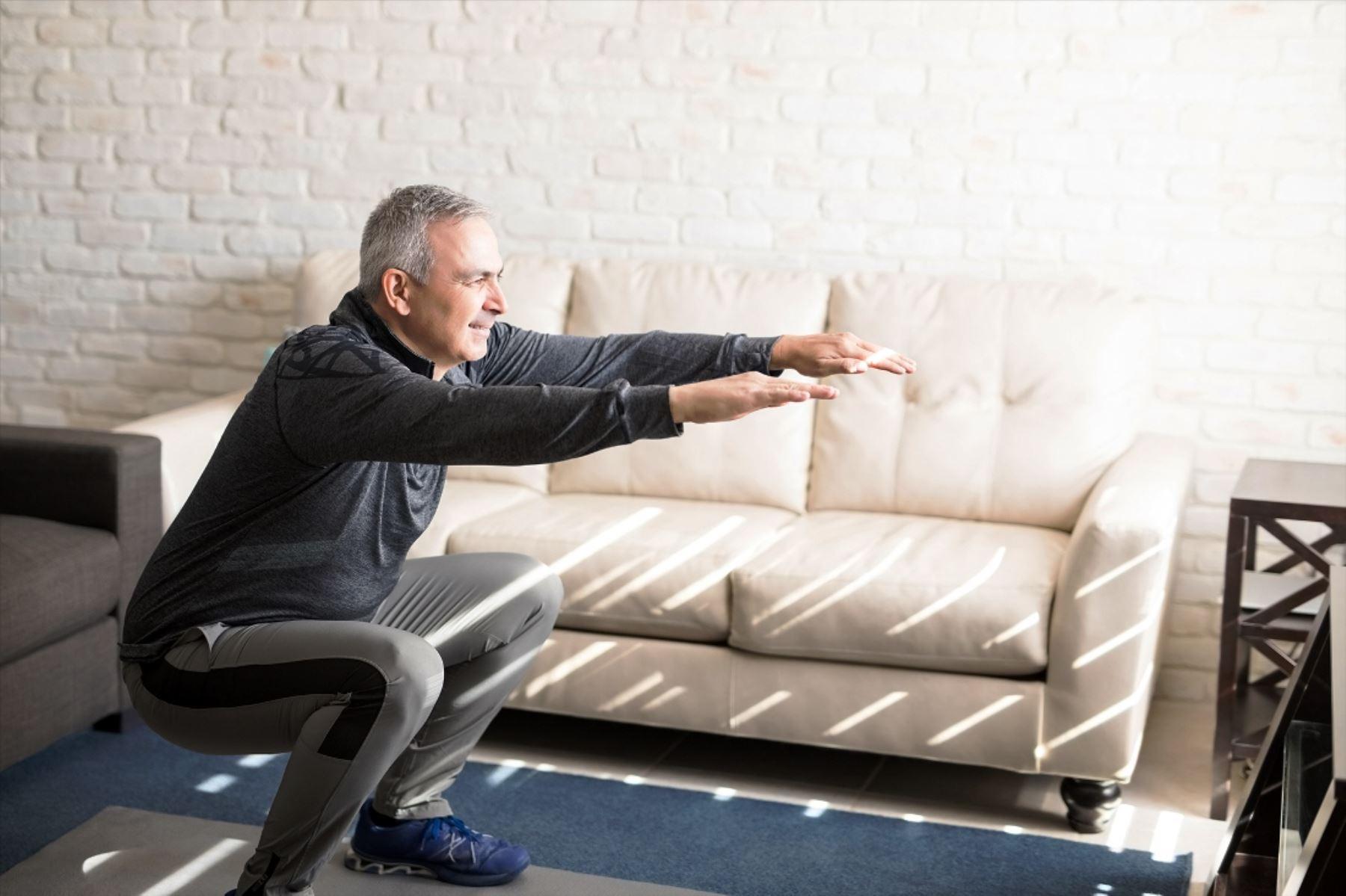 Cuarentena: recomiendan 30 minutos de actividad física en adultos mayores. Foto: ANDINA/Difusión.