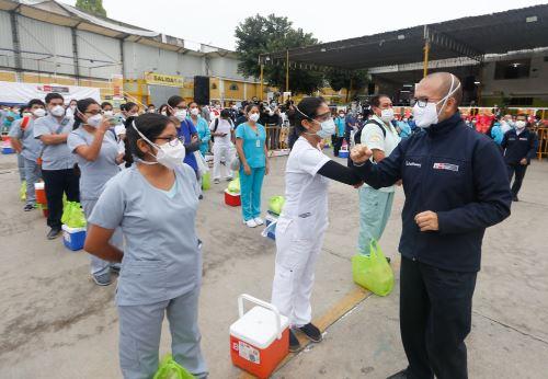 """Coronavirus: Minsa lanza """"La Hora de la Atención Primaria"""" en Lima Norte"""