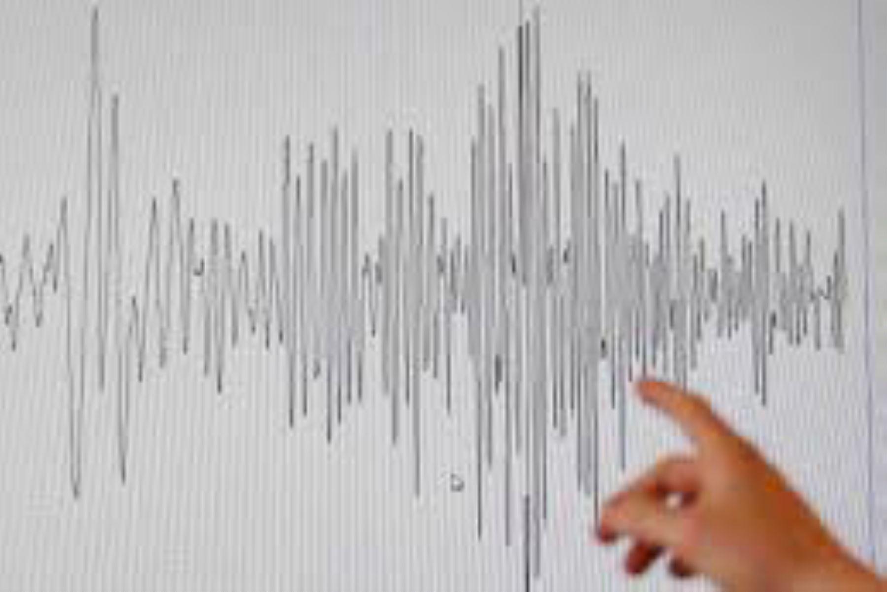 Temblor de magnitud 4 se registra en la región Arequipa