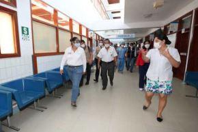 La ministra del Ambiente, Fabiola Muñoz, supervisó hospitales de la región Madre de Dios, en la selva sur peruana. Foto: ANDINA/Difusión
