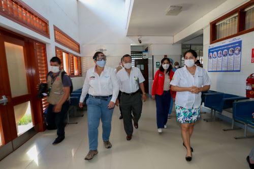 Coronavirus: Ministra del Ambiente supervisa atención hospitalaria en Madre de Dios