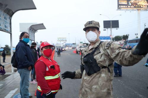 Coronavirus: Verificación del cumplimento del protocolo sanitario del transporte público en el Callao