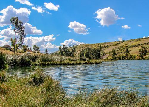 Junín celebra recuperación de la laguna Ñahuimpuquio, que ahora muestra aguas cristalinas y la recuperación de su flora y fauna. Foto: ANDINA/difusión.