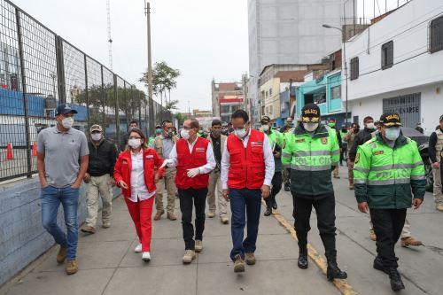 Coronavirus: Ministros analizan estrategia de reinicio de actividades en Gamarra