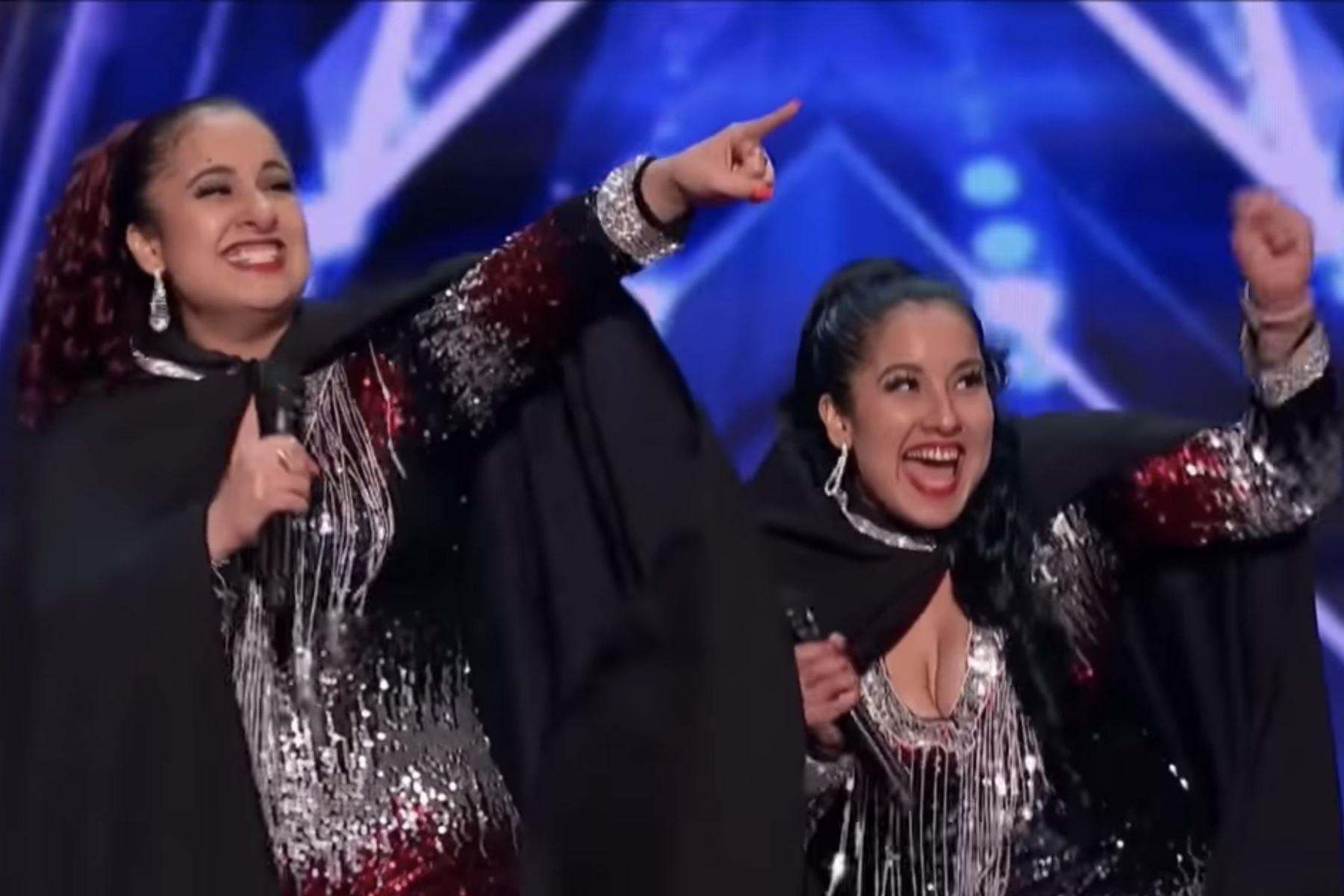 Las hermanas y gemelas Ramos sorprendieron a los jurados en America