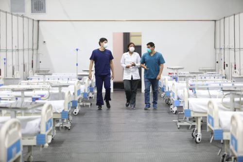Coronavirus: Supervisan ambientes de la Villa Mongrut que atenderá a pacientes infectados de Lima Norte y Callao