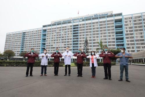 Coronavirus: Grupo de expertos médicos chinos visitan  el Instituto Nacional de Salud y el hospital Rebagliati