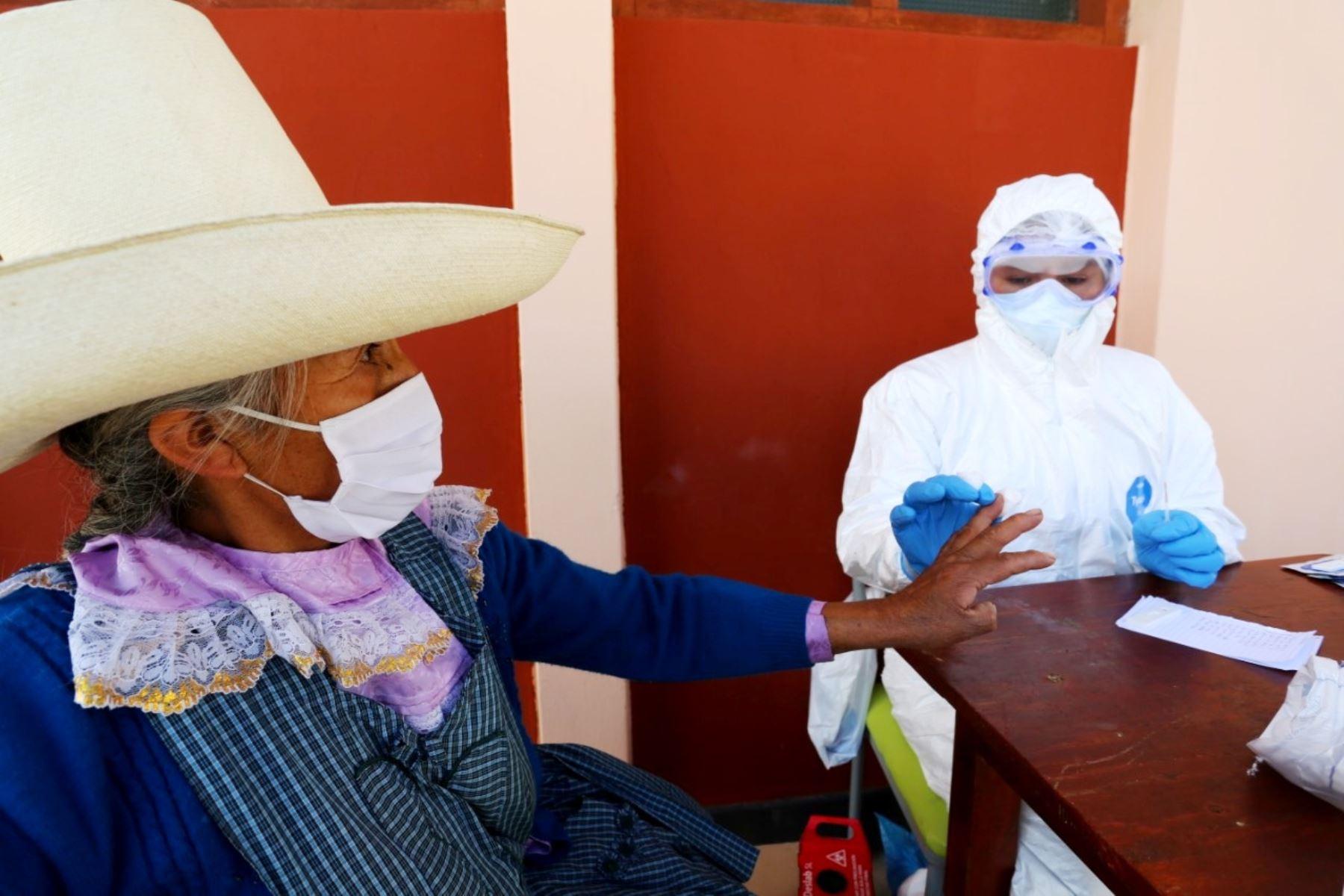 Conoce las siete claves de la exitosa estrategia que aplica Cajamarca para frenar el avance del coronavirus. ANDINA/Difusión