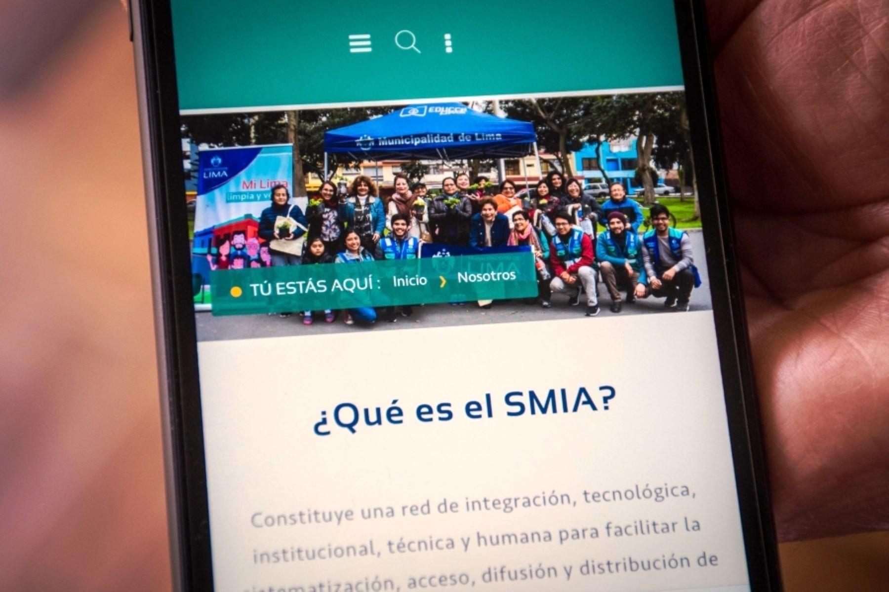Municipalidad Metropolitana de Lima lanza plataforma sobre cuidado del ambiente en la ciudad. Foto: ANDINA/difusión.