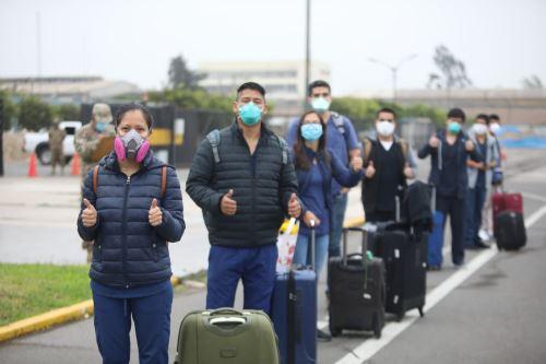 Coronavirus: 25 profesionales de la salud viajaron a Ucayali para combatir la pandemia