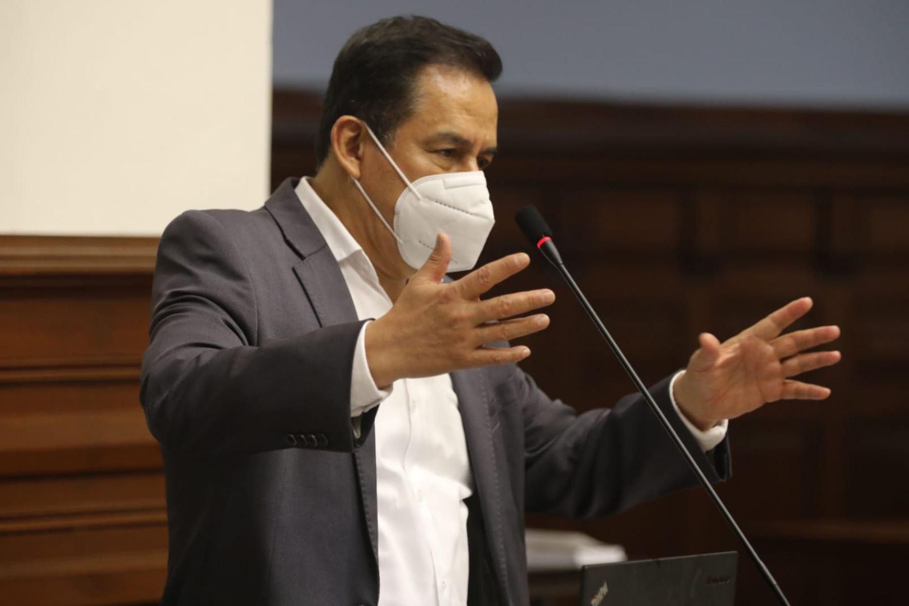 Congresista Vega Antonio. Foto: ANDINA/Difusión