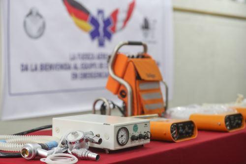 Coronavirus: Alemania dona ventiladores para combatir el covid-19
