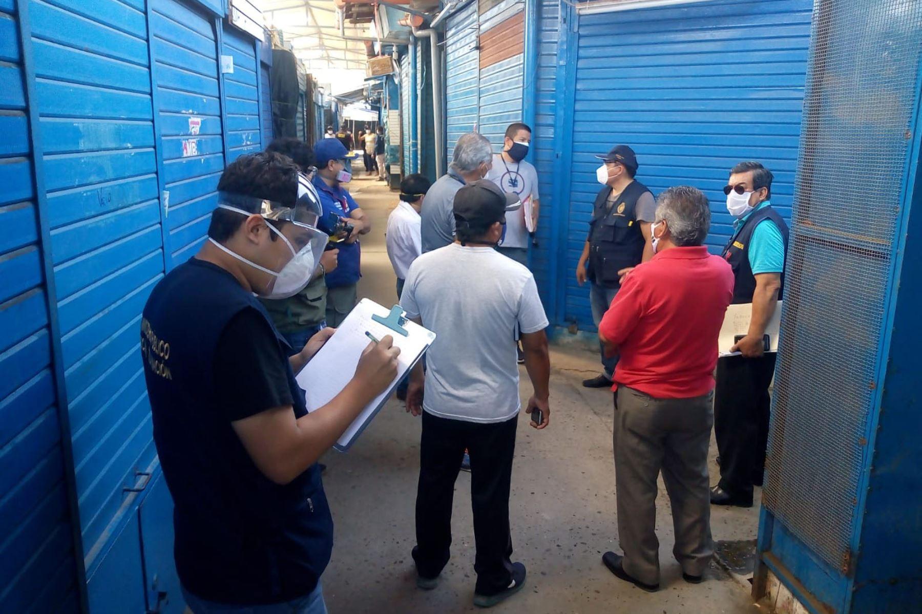 Este 1 de junio se prevé reabrir el mercado Modelo de Chiclayo, que se adecúa para evitar los contagios con el nuevo coronavirus. Foto: ANDINA/Difusión