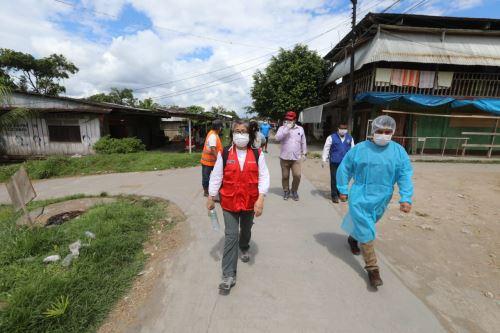 Coronavirus: Ejecutivo articula acciones sanitarias contra el COVID-19 en zonas rurales de Loreto