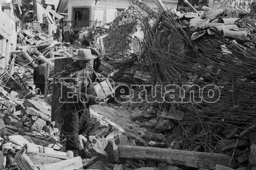 Hoy se cumplen 50 años del terremoto que sepultó Yungay