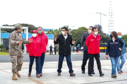 Coronavirus: Ministros de Estado viajan a Piura para evaluar situación de la pandemia en la región
