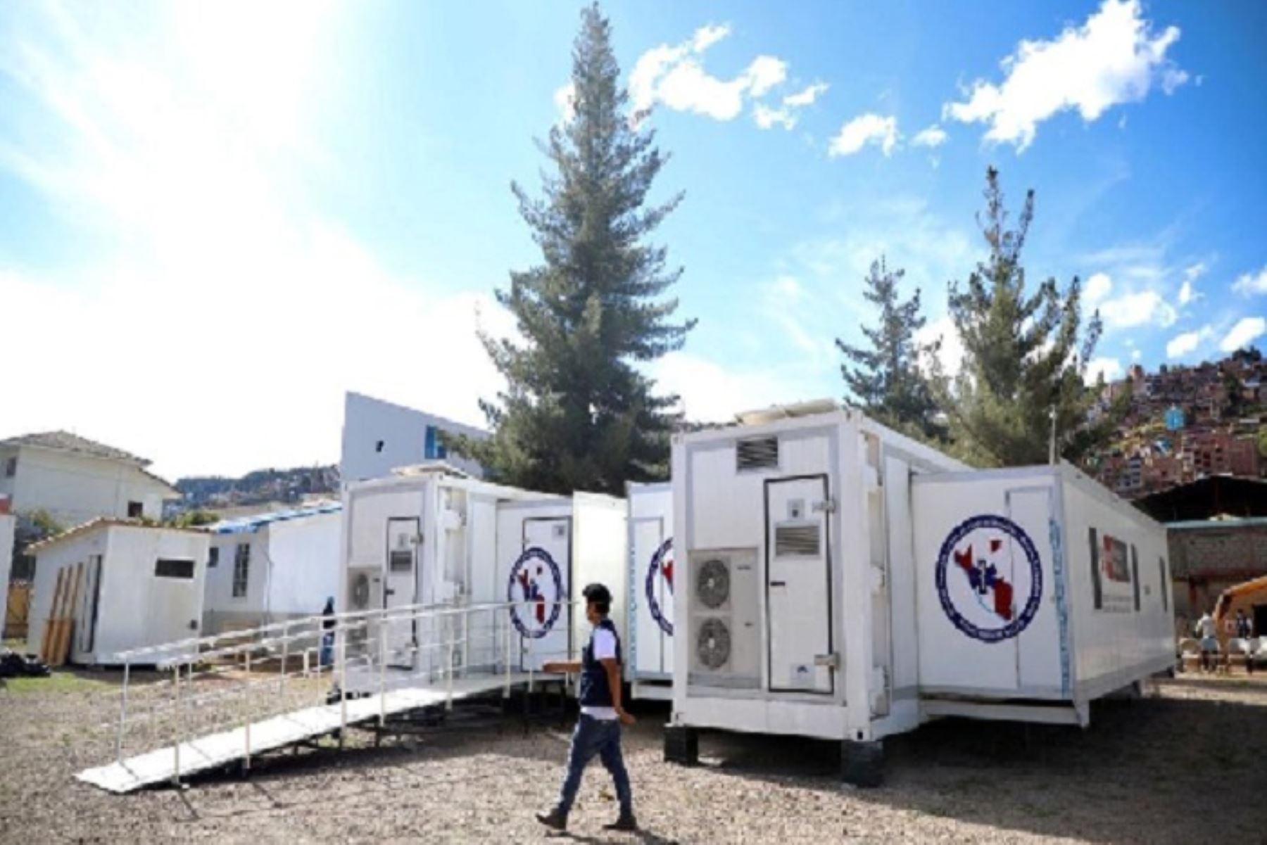 La región La Libertad contará con centro temporal de hospitalización covid-19. Foto: ANDINA/Difusión