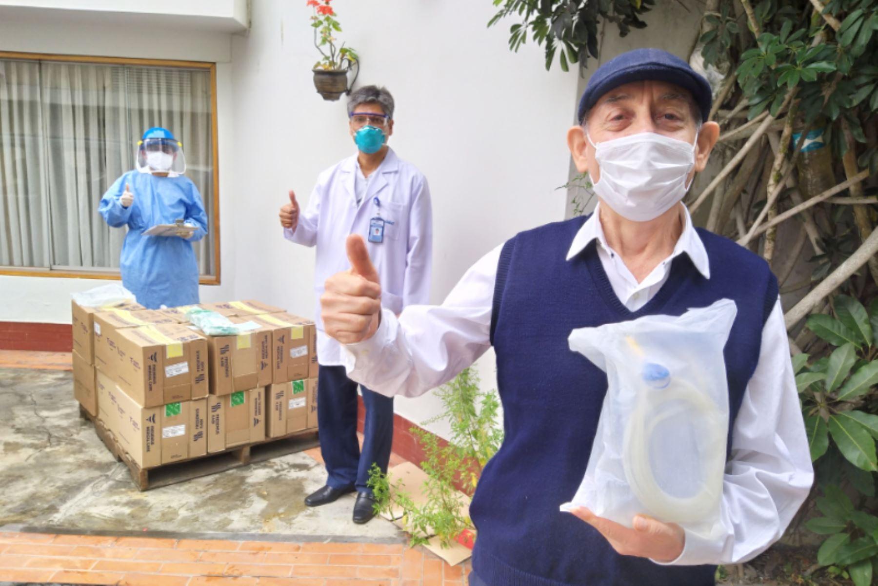Más de 1,000 pacientes críticos de red Rebagliati recibirán sus medicinas en casa. Foto: ANDINA/Difusión.