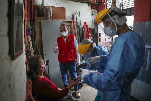 Coronavirus: Ministros de Defensa y Salud supervisan inicio de operación piloto Tayta