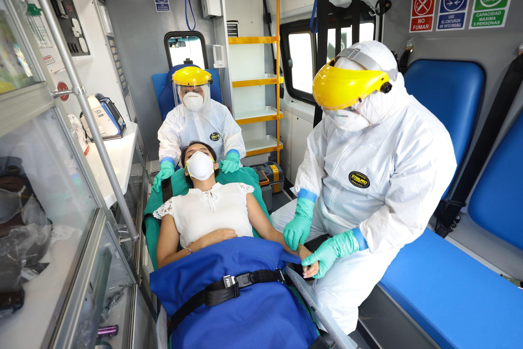 Minsa reporta aumento de contagios por coronavirus y fallecidos por covid - 19Foto:. ANDINA/Difusión