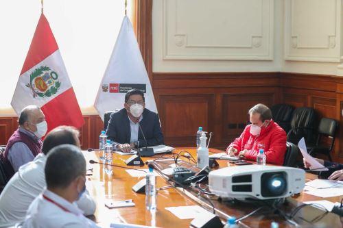 Coronavirus: Presidente del Consejo de Ministros en videoconferencia con alcaldes de Lima, La Victoria y Santa Anita