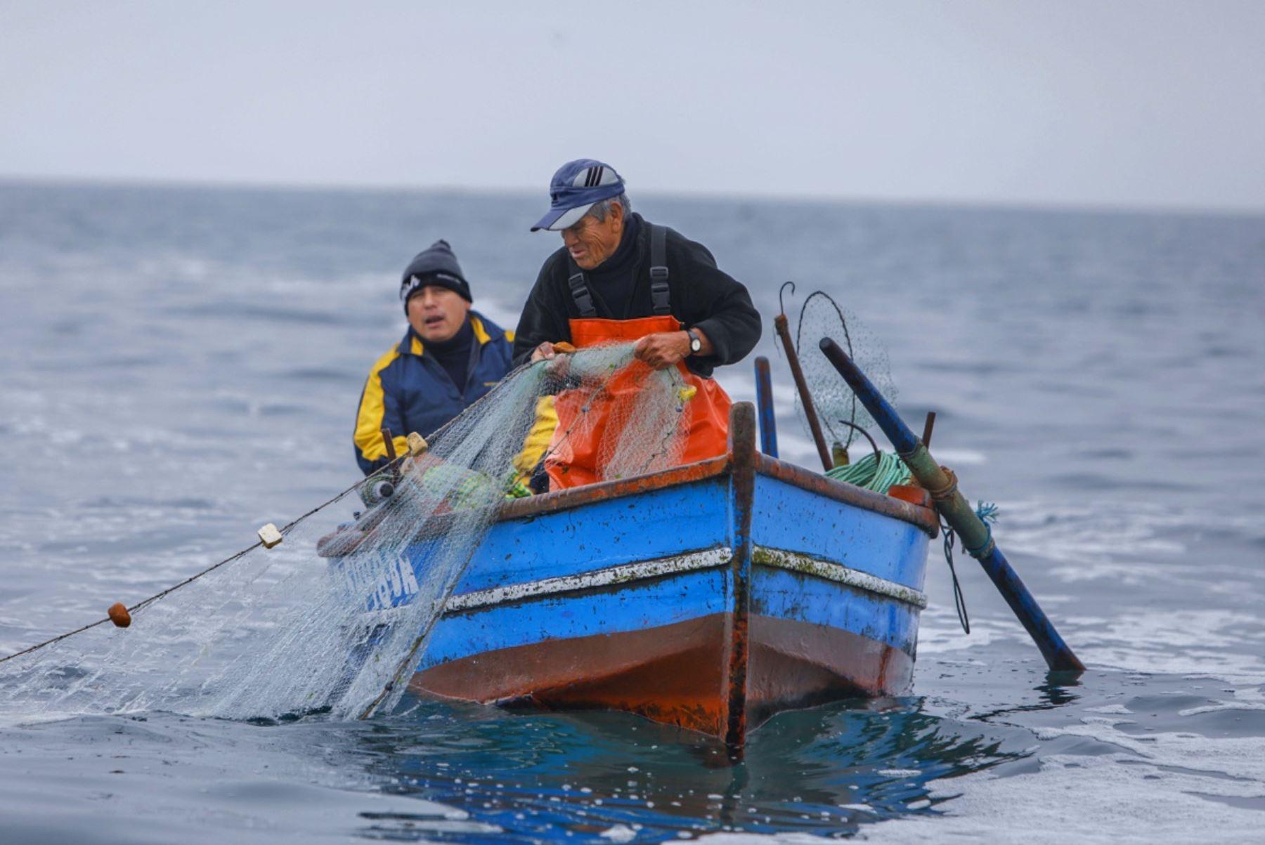 Ejecutivo amplía plazo para formalizar pesca artesanal hasta el 30 de abril 2022