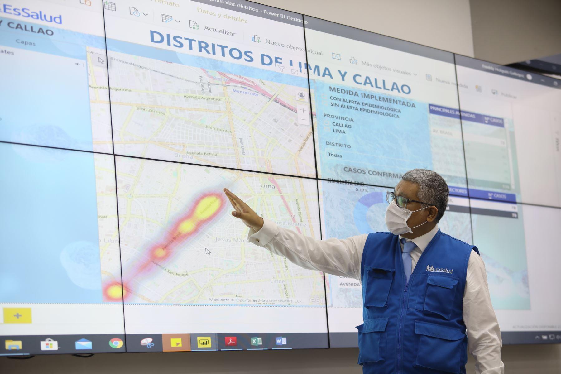 Coronavirus: avenidas Colonial, Brasil y Universitaria son mayores focos de contagio. Foto: ANDINA/difusión.