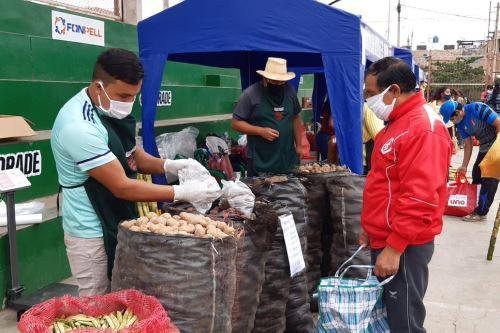 """Ministerio de Agricultura impulsa el programa  """"De la Chacra a la Olla"""" en La Libertad"""
