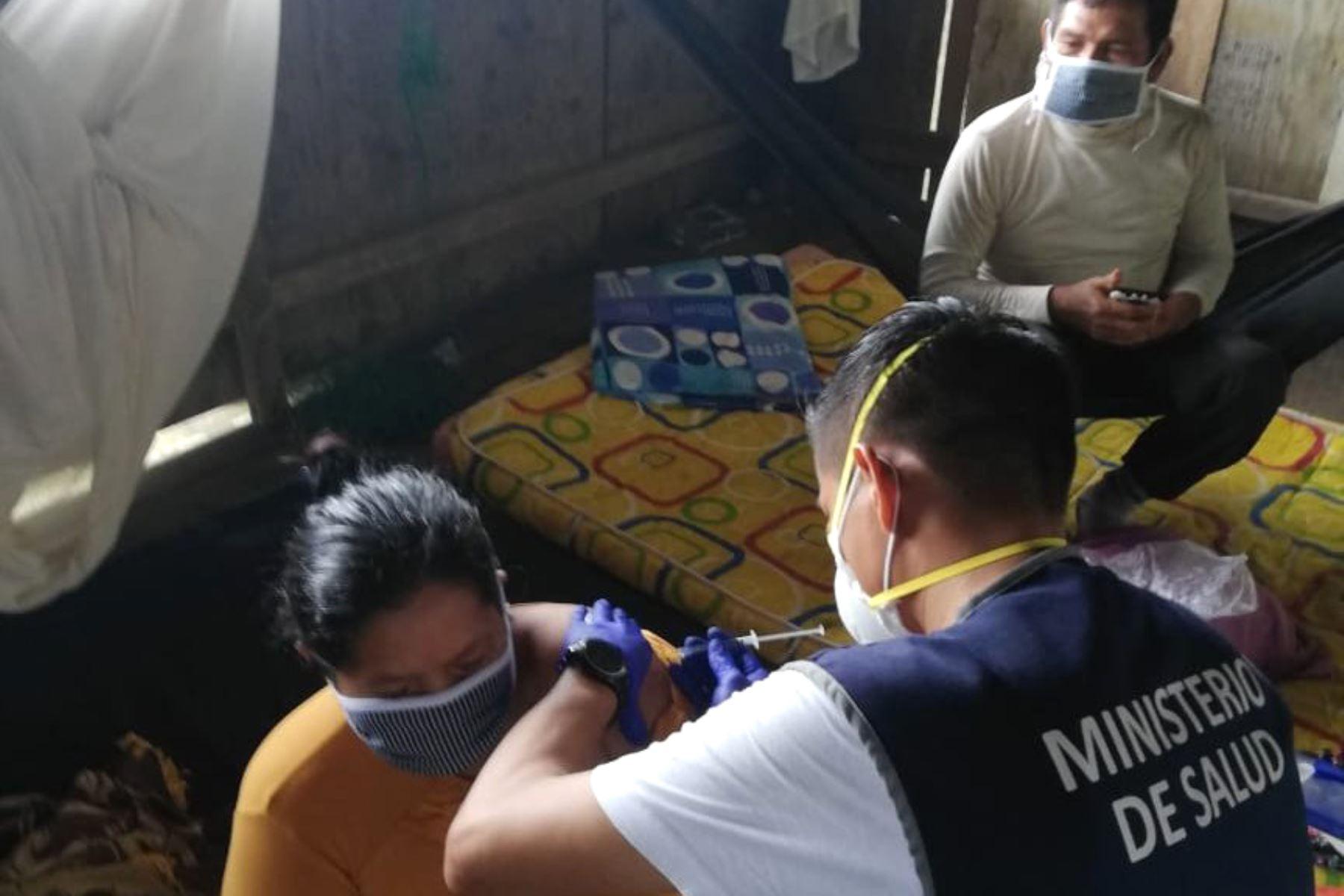 Loreto: autoridades solicitarán autorización para vacunar a mayores de 40 años