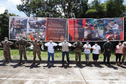 Coronavirus: Ministro de Cultura supervisa acción sanitaria en  Loreto como parte de las acciones cívicas contra el covid-19