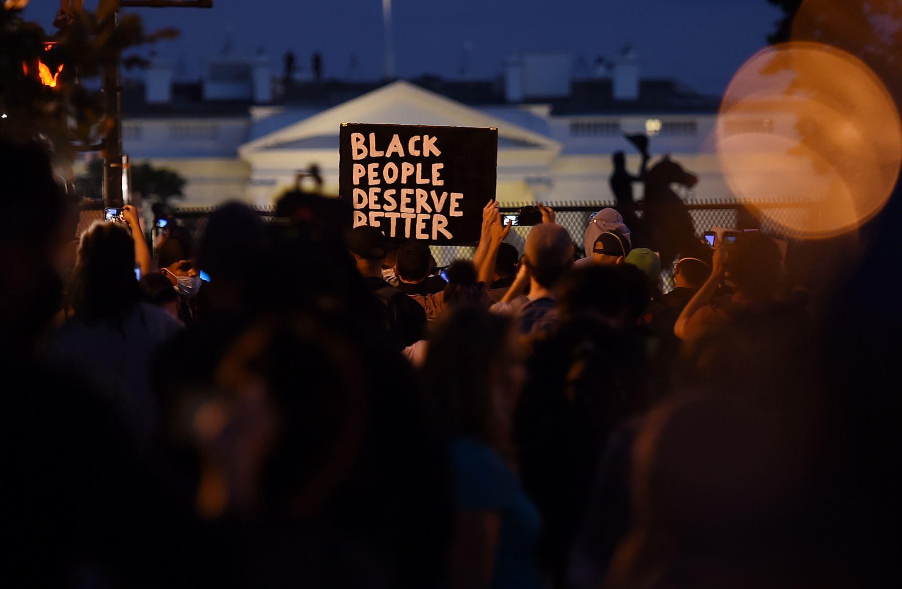 Protestas se extienden por todo los Estados Unidos. Foto: AFP