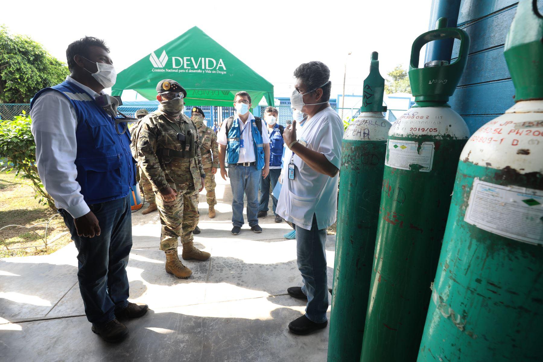 Campañas de acción cívica en las comunidades de Santa Rosa del Yavarí y Caballococha en la frontera tripartita de Perú, Brasil y Colombia.Foto ANDINA/Esalud