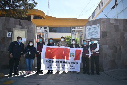 Coronavirus: Delegación de médicos chinos se  reúnen con el Gobernador Regional de Arequipa y médicos de la región