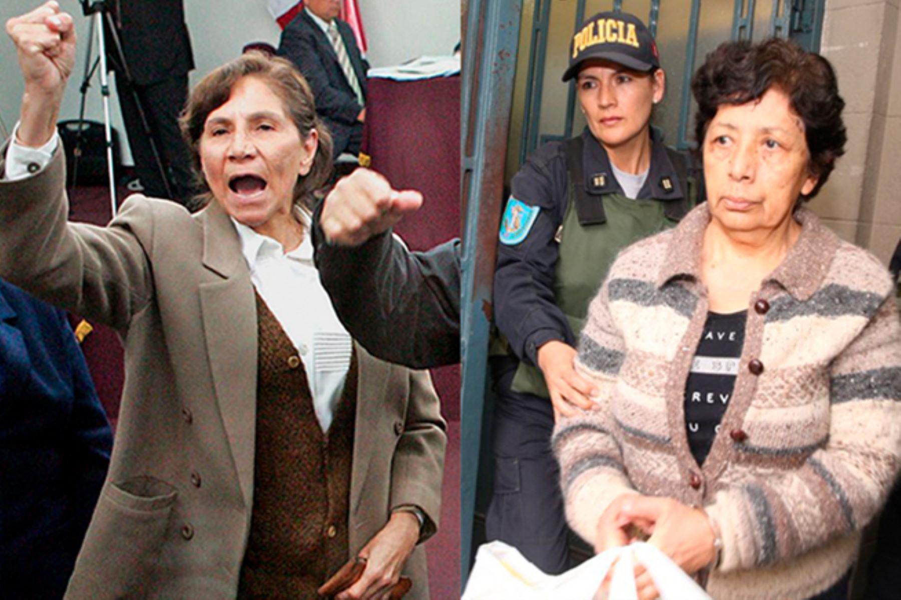 Poder Judicial rechaza habeas corpus para liberar a Elena Iparraguirre y Margot Liendo.