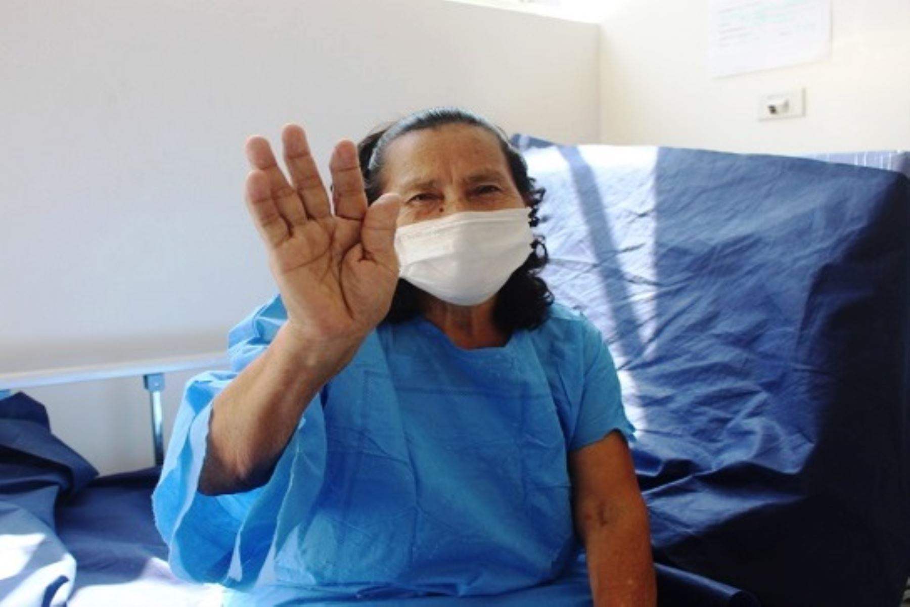 Con 71 años, madre de familia se suma a las 69,257 personas que vencieron al covid-19. Foto: ANDINA/difusión.