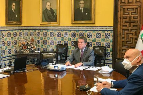 """Coronavirus: Canciller participa en II Conferencia de la """"Iniciativa para América Latina y el Caribe del Ministerio Federal de Relaciones Exteriores de Alemania"""