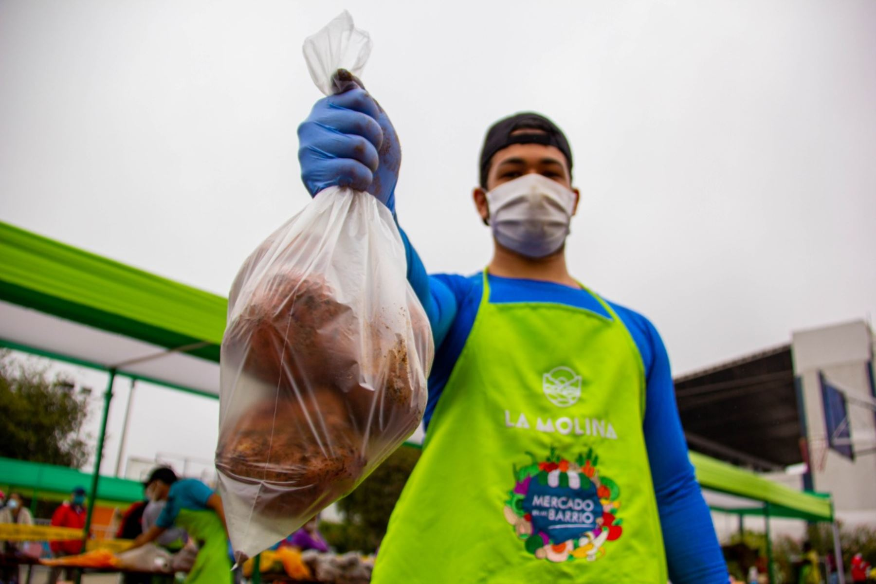 Productores agropecuarios de Junín logran vender 12 toneladas de papa a la Municipalidad de La Molina. ANDINA/Difusión